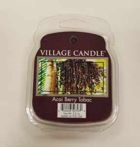 Wosk zapachowy Village Candle ACAI BERRY TOBAC