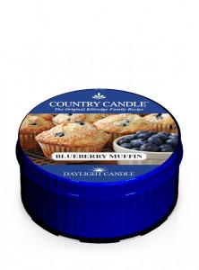 Daylight BLUEBERRY MUFFIN Country Candlele