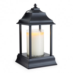 Candle Warmers Lampa do świec CARRIAGE BLACK