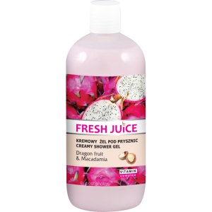 Fresh Juice Kremowy żel pod prysznic DRAGON FRUIT & MACADAMIA
