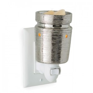Candle Warmers Kominek elektryczny Plug in BRUSHED CHROME