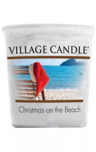 Village Candle Sampler CHRISTMAS ON THE BEACH