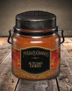 Świeca zapachowa AUTUMN LEAVES McCall's Candles