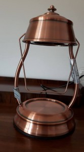 Candle Warmers Lampa do świec HURRICANE COPPER