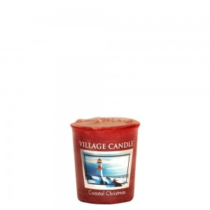 Village Candle Sampler COASTAL CHRISTMAS